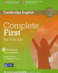Complete First for Schools Workook with Answers & Audio CD