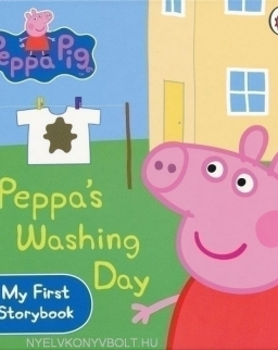 Peppa Pig - Peppa's Washing Day - My First Storybook Board Book
