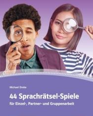 44 Sprachrätsel-Spiele Für Einzel-, Partner- und Gruppenarbeit Arbeitsblätter, Kopiervorlagen