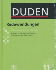 Duden 11 Redewendungen 4. auflage - Wörterbuch der deutschen Idiomatik