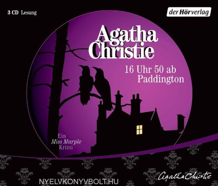Agatha Christie: 16 Uhr 50 ab Paddington - Audiobook 3 CDs