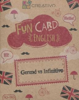 Fun Card English: Gerund vs Infinitive