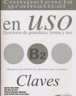 Competencia gramatical en Uso B2 Clave