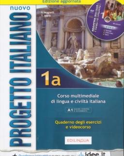 Nuovo Progetto Italiano 1a Quaderno degli esercizi e videocorso + DVD - Edizione Ungerese 2016