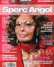 5 Perc Angol Magazin 2021 Június