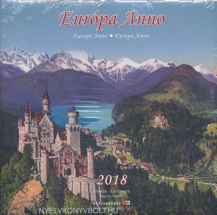 Európa Anno falinaptár 2018 (22x22)