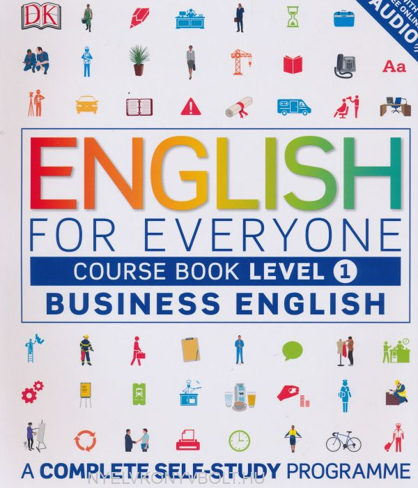 English for Everyone Business English Course Book Level 1 with Free Online Audio - A Complete Self-Study Programme