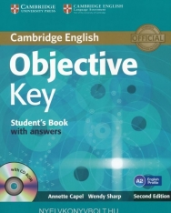 Objective Key Student's Book with Answers and CD-Rom Second Edition