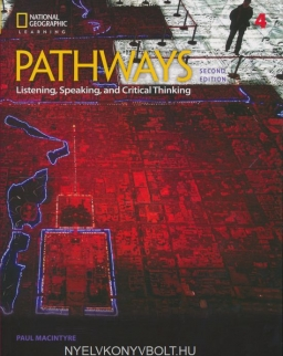 Pathways 2nd Edition 4 - Listening, Speaking and Critical Thinking - with Online Workbook Access Code