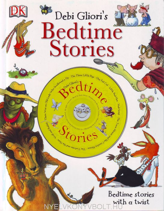 Debi Gliori's Bedtime Stories with Audio CD