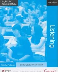 English for Academic Study: Listening Teacher's Book