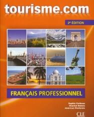 Tourisme.com 2e Édition Livre de l'éleve inclus Audio CD - Françias Professionel