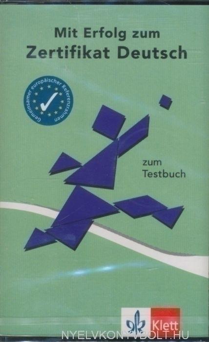 Mit Erfolg zum Zertifikat Deutsch Testbuch Cassette