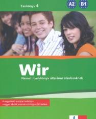 Wir 4 Tankönyv - Német nyelvkönyv általános iskolásoknak