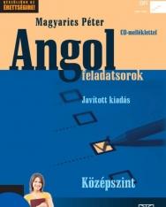 Angol feladatsorok Középszint Javított kiadás Cd melléklettel (NT-56468/2)