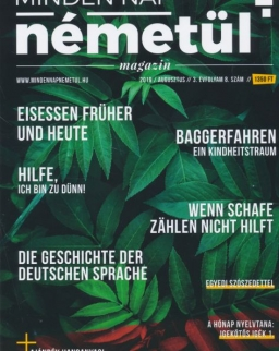 Minden Nap Németül magazin 2019 augusztus