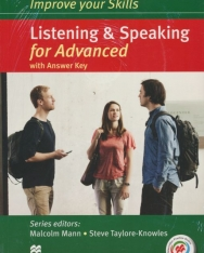 Improve Your Skills Listening & Speaking for Advanced Student's Book with Answer Key, 3 Audio CDs & Macmillan Practice Online