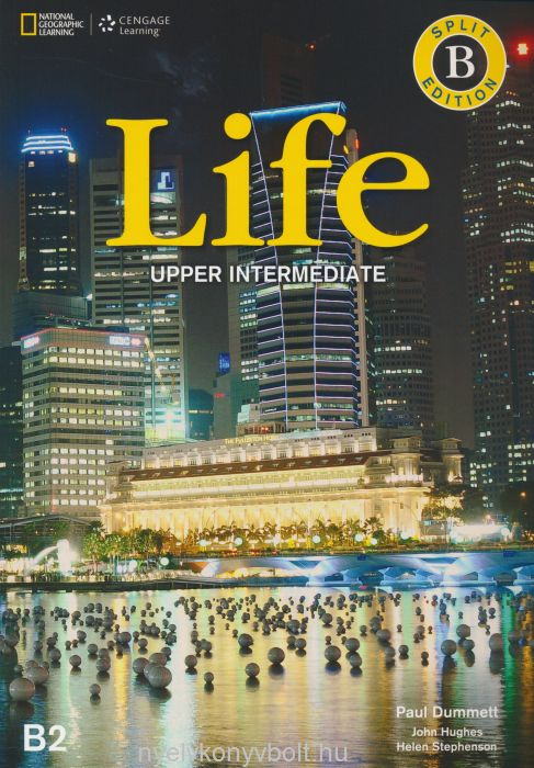 LIFE Upper-Intermediate Split Edition B Student's Book with DVD and Workbook Audio CDs (2)