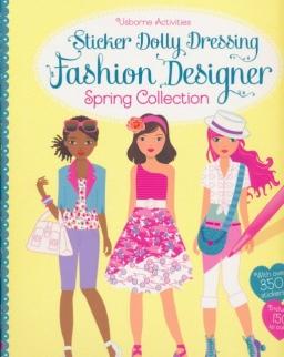Usborne Sticker Dolly Dressing - Fashion Designer Spring Collection