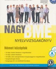 Nagy BME Nyelvvizsgakönyv - Német Középfok (B2) CD melléklettel és letölthető hanganyaggal 3. kiadás (LX-0053-3)