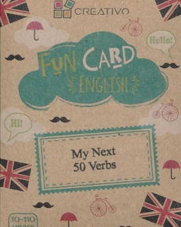 Fun Card English: My Next 50 Verbs