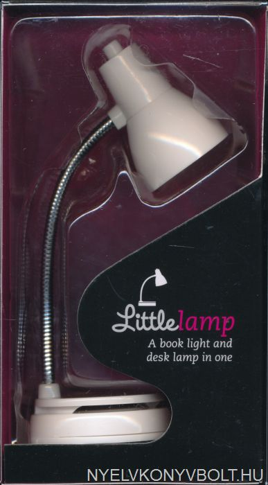 Little Lamp - Ledes olvasólámpa - fehér színben