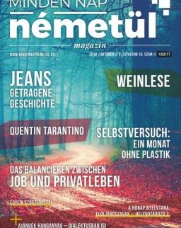 Minden nap németül magazin 2018 október