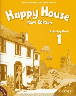 New Happy House 1 Activity Book with MultiROM Pack