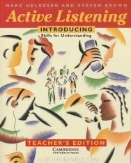 Active Listening: Introducing Skills for Understanding Teacher's Book