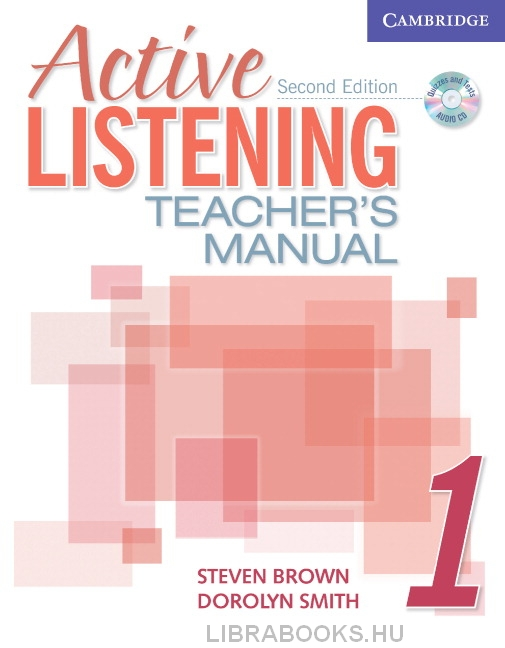 Active Listening 1 Teacher's Manual with Audio CD 2nd Edition