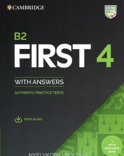 Cambridge English First Authentic Practice Tests 4 Student's Book with Answers & Audio Download