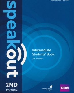 Speakout Intermediate Student's Book with DVD-ROM - 2nd Edition