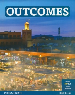 Outcomes 2nd Edition Intermediate Student's Book with DVD-ROM and MyELT Online Access Code