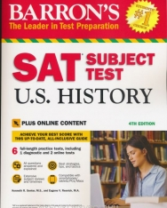 Barron's SAT Subject Test U.S. History 4th Edition with Online Content