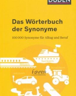 DUDEN Das Wörterbuch der Synonyme
