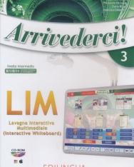 Arrivederci! 3: Software per la lavagna interattiva multimediale (LIM) CD-Rom