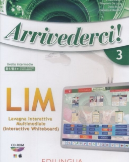 Arrivederci! 3: Software per la lavagna interattiva multimediale (LIM) CD-Rom