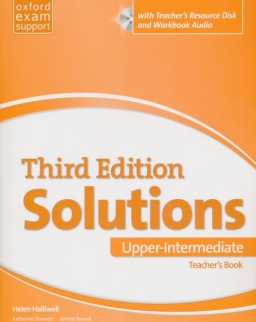 Solutions 3rd Edition Upper-Intermediate with Teacher's Resource Disk and Workbook Audio
