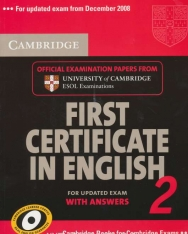 Cambridge First Certificate in English 2 Official Examination Past Papers Student's Book with Answers for Updated Exam 2008 (Practice Tests)