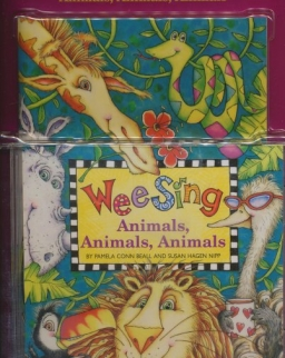 Wee Sing Animals, Animals, Animals with Audio CD