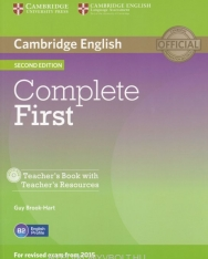 Complete First Teacher's Book with Teacher's Recources CD-ROM