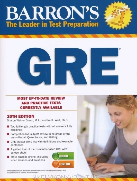 Barron's GRE Twentieth Edition
