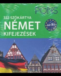 PONS 333 szókártya német kifejezések A2-B2