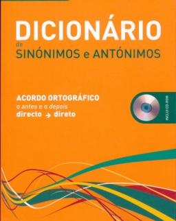 Dicionário de Sinónimos e Antónimos + CD-Rom