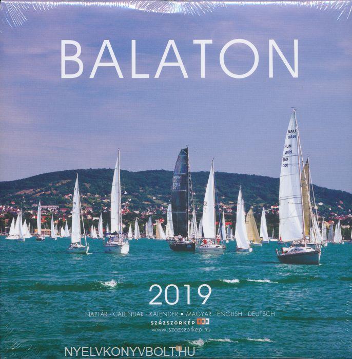 Balaton falinaptár 2019 (22x22)