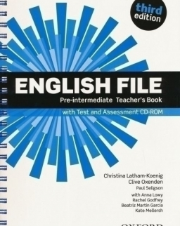 English File - 3rd Edition - Pre-Intermediate Teachers Book with Test/Cd-Rom