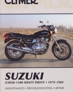 Clymer: Suzuki Gs850-1100 Shaft Drive 1979-1984