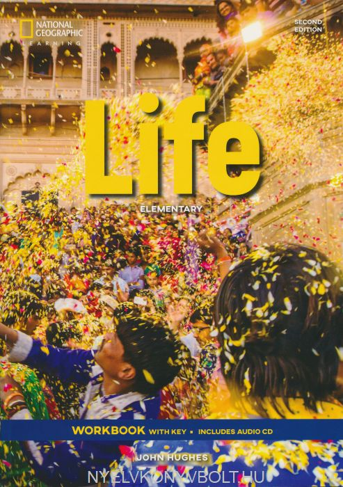 Life 2nd Edition Elementary Workbook with key includes Audio CD
