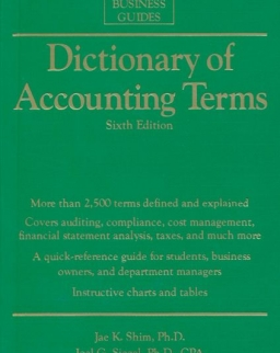 Dictionary of Accounting Terms - Sixth Edition - Barron's Business Guides