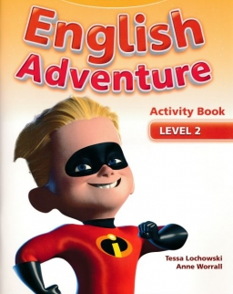 New English Adventure 2 Activity Book with Songs and Stories CD